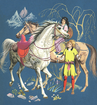 horse and his boy back cover